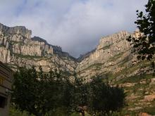 Montserrat view from train station