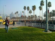 Corniche during the National day celebrations