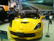 Corvette at the Qatar Motorshow