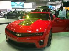 Camaro at the Qatar Motorshow