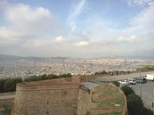 View from top of Montjuic